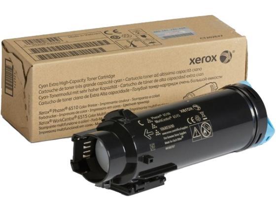 цены Картридж Xerox 106R03693 для Phaser 6510/WC 6515 голубой 4300стр
