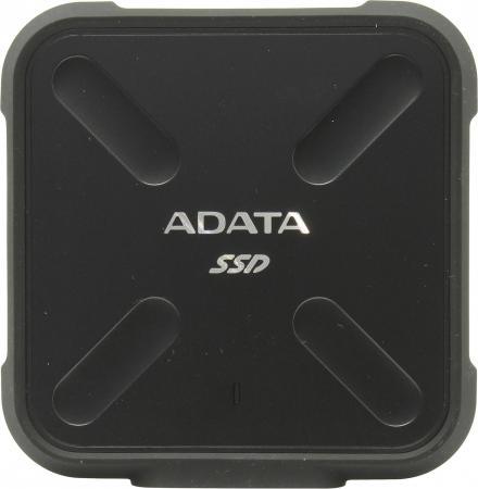 4db2206afc211 Внешний жесткий диск SSD USB3.0 512 Gb A-Data SD700 ASD700-512GU3-CBK черный