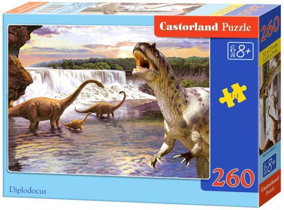 Пазл 260 элементов Кастор Динозавры 2  B-26616 кастор игра настольная пазл смешные самолеты 4в1 кастор