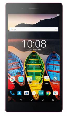 Планшет Lenovo Tab 3 TB3-730X 7 16Gb розовый Wi-Fi Bluetooth LTE Android ZA130338RU pu leather cover stand case for lenovo tab3 tab 3 7 730 730f 730m 730x tb3 730f tb3 730m 7 0 tablet 2pcs screen protector