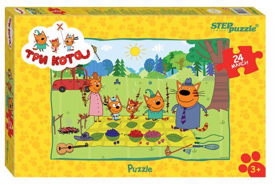 Купить Пазл 24 элемента Step Puzzle Три кота , Пазлы для малышей