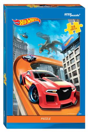 Пазл 24 элемента Step Puzzle Hot Wheels 90029