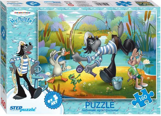 Пазл 160 элементов Step Puzzle Ну, погоди! Рыбалка 72062 пазл step puzzle развивающие паззлы союзмультфильм путешествие в мир добра в асс 76064