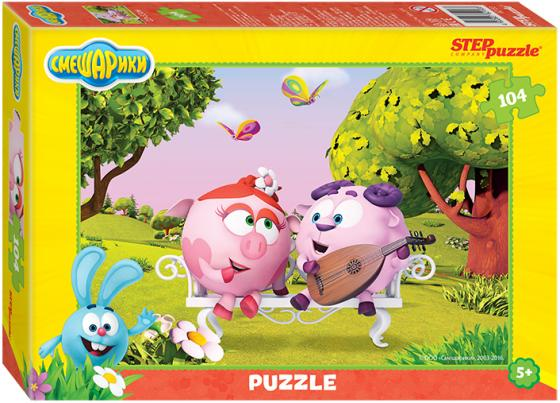 цена на Пазл Step Puzzle 104 Смешарики