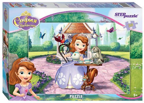 Пазл 260 элементов Step Puzzle Принцесса София 95041 пазл step puzzle принцесса софия disney 35 элементов