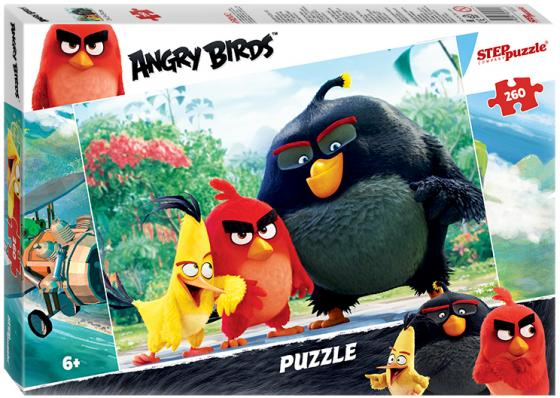Пазл 260 элементов Step Puzzle Angry Birds 95051