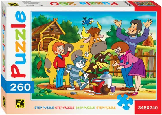 Пазл 260 элементов Step Puzzle Простоквашино 74010 пазл step puzzle принцесса софия disney 60 элементов