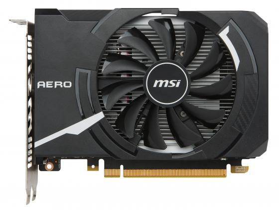 где купить Видеокарта 4096Mb MSI GeForce GTX1050Ti PCI-E 128bit GDDR5 DVI HDMI DP HDCP GTX 1050 Ti AERO ITX 4G OC(V1) Retail дешево