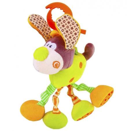 """цена на Развивающая игрушка Жирафики Подвеска с вибрацией """"Пёсик Том"""" 93591"""