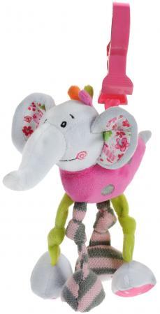 "цена на Развивающая игрушка Жирафики Подвеска с вибрацией ""Слонёнок Тим"" 93567"