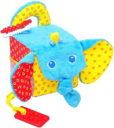 Развивающая игрушка МЯКИШИ Кубик - Слон 306 подвесная игрушка мякиши кубик слон 306