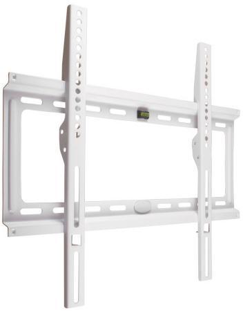 Кронштейн Kromax Ideal-3 белый 22-65 настенный от стены 23мм VESA 400х400мм до 50кг