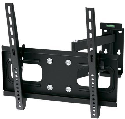 Кронштейн ARM Media PT-15 черный для LED/LCD ТВ 26-65 настенный от стены 90-445 мм VESA 400x400мм до 40кг arm media lcd t13 15 32 до 8кг vesa до 100x100 черный для двух мониторов