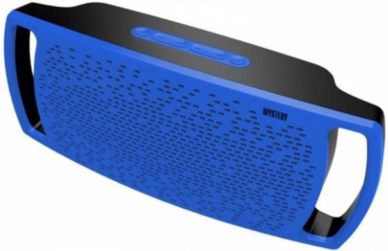 Портативная акустика Mystery MBA-512UB 10Вт синий 001 mystery brown
