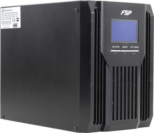 ИБП FSP Knight Pro+ TW 1K 1000VA ибп fsp dpv 1000 1000va