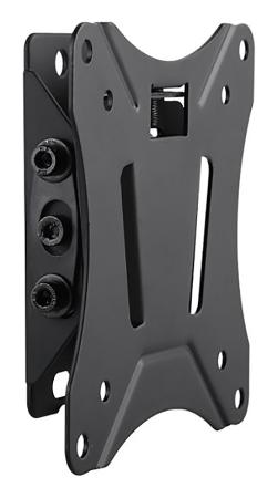 """Кронштейн Ultramounts UM830T черный 13""""-27"""" настенный от стены 34мм VESA 100x100 до 25кг кронштейн ultramounts um810f до 25кг"""