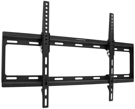 Фото - Кронштейн Ultramounts UM834T черный 37-70 настенный от стены 25мм VESA 600x400 до 35кг кронштейн