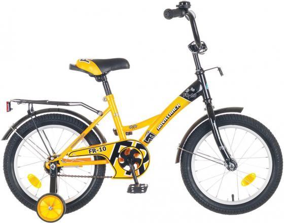 Велосипед двухколёсный Novatrack FR-10 12 желтый  123FR10.YL5 детский велосипед novatrack fr 10 20 green