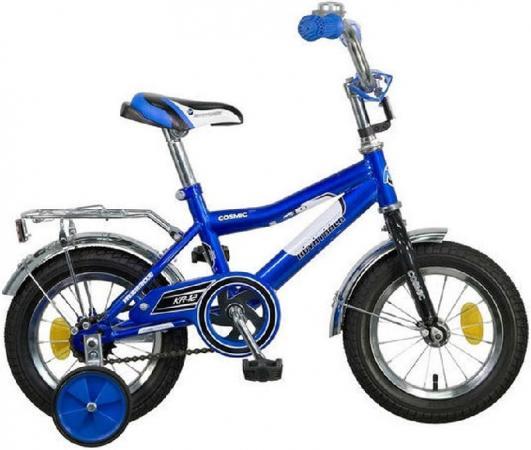 Велосипед двухколёсный Novatrack Cosmic 12 синий 123COSMIC.BL7 велосипед novatrack 14 cosmic черный 143 cosmic bk5