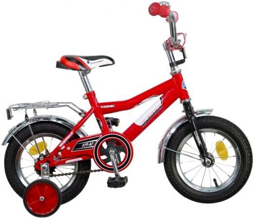 """Велосипед двухколёсный Novatrack Cosmic 12"""" красный  123COSMIC.RD5"""