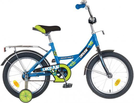 Велосипед двухколёсный Novatrack Urban 14 синий велосипед novatrack urban 16 синий двухколёсный