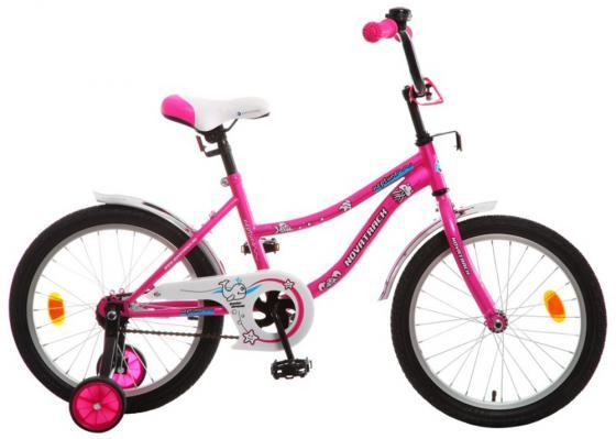 """Велосипед двухколёсный Novatrack """"Neptune"""" 18"""" розовый"""