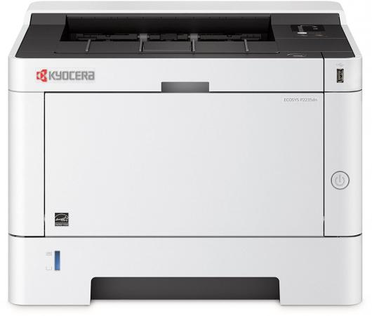 Принтер Kyocera Ecosys P2235dn ч/б A4 35ppm 1200x1200dpi Ethernet USB 1102RV3NL0 цена