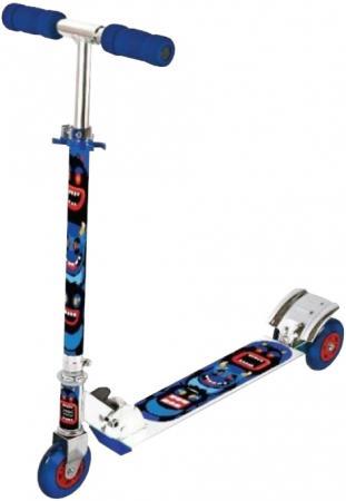 Самокат трехколёсный X-Match Cheerful 4 синий 64654 x match настольная игра хоккей x match 87909