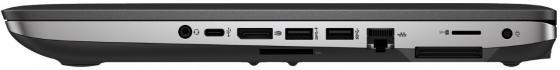 "Ультрабук HP ProBook 640 G3 14"" 1920x1080 Intel Core i5-7200U 512 Gb 8Gb Intel HD Graphics 620 черный серебристый Windows 10 Professional Z2W35EA"