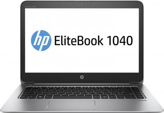 Ультрабук HP EliteBook 1040 G3 14 2560x1440 Intel Core i7-6500U 256 Gb 8Gb 3G 4G LTE Intel HD Graphics 520 серебристый Windows 10 Professional Y8R06EA ноутбук hp elitebook 820 g4 z2v85ea z2v85ea