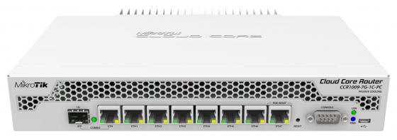 Маршрутизатор Mikrotik CCR1009-7G-1C-PC 10pcs lot mt48lc2m32b2tg 7g ^