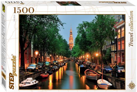 цена на Пазл 1500 элементов Step Puzzle Амстердам 83049