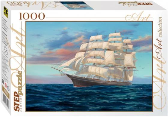 Пазл 1000 элементов Step Puzzle Корабль 79096 iq puzzle пазл 3d классический истребитель f41 в 38 деталей
