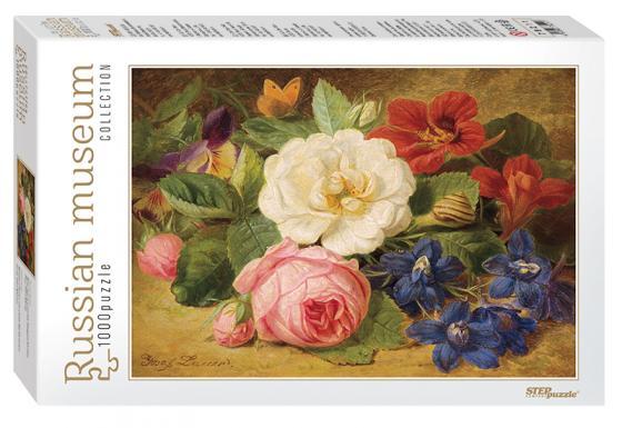 Пазл 1000 элементов Step Puzzle Букет цветов с улиткой 79211 пазл step puzzle принцесса софия disney 60 элементов