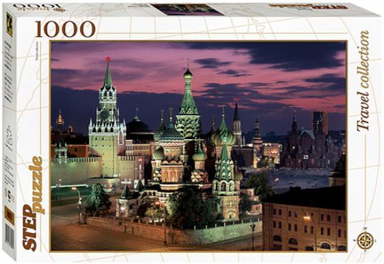 Пазл 1000 элементов Step Puzzle Красная площадь Москва 79075 пазл 1000 элементов step puzzle дети с попугаем 79213