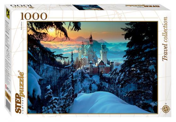 Пазл 1000 элементов Step Puzzle Бавария. Замок Нойшванштайн 79103 puzzle 1000 замок simon mardsen 29563