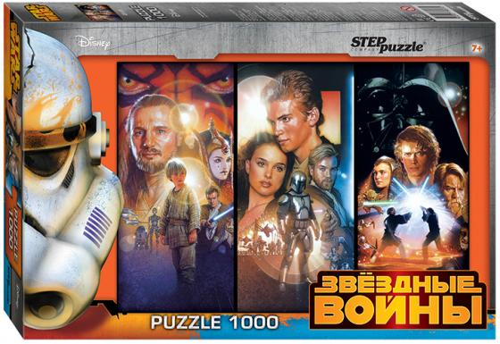 Пазл 1000 элементов Step Puzzle Звездные Войны  79607 step puzzle звездные войны 260 шт