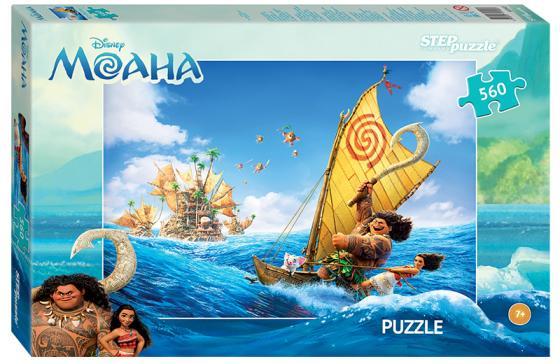 Пазл 560 элементов Step Puzzle Моана  97045 пазл step puzzle пагода у водопада 560 элементов 78094