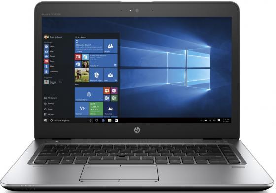 Ноутбук HP Elitebook 840 G4 14 1920x1080 Intel Core i7-7500U SSD 512 8Gb Intel HD Graphics 620 серебристый Windows 10 Professional Z2V63EA