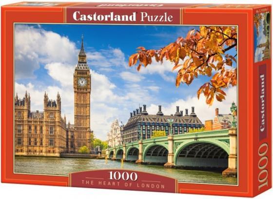 Пазл 1000 элементов Кастор Сердце Лондона С-103096 пазл кастор озеро канада 1000 элементов
