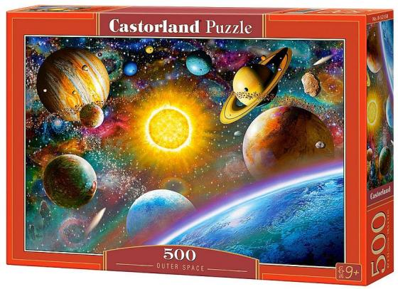 Пазл 500 элементов Кастор Космос B-52158 пазл 55 элементов кастор времена года