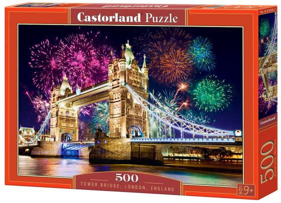 Пазл 500 элементов Кастор Тауэрский мост. Англия B-52028 пазл 1000 томас кинкейд мост 57466