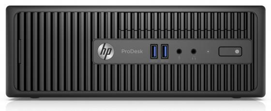 Системный блок HP 400 G3 ProDesk SFF G4400 3.3GHz 4Gb 500Gb HD510 DVD-RW Win10Pro клавиатура мышь черный X3L07EA