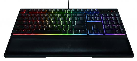 Клавиатура проводная Razer Ornata Chroma USB черный RZ03-02040700-R3R1 клавиатура razer blackwidow tournament 2014 черный rz03 00811900 r3r1
