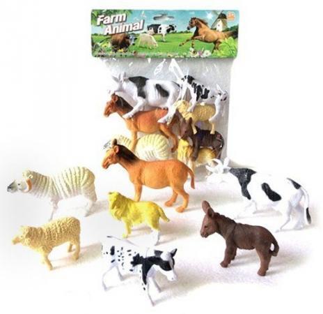 Набор фигурок Shantou Gepai Farm animal A172 play doh игровой набор магазинчик домашних питомцев