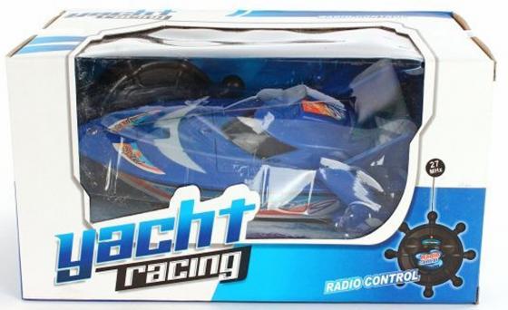 Катер на радиоуправлении Shantou Gepai Yacht Racing цвет в ассортименте от 3 лет пластик 4 канала мотоцикл на радиоуправлении shantou gepai мотоцикл пластик от 3 лет цвет в ассортименте