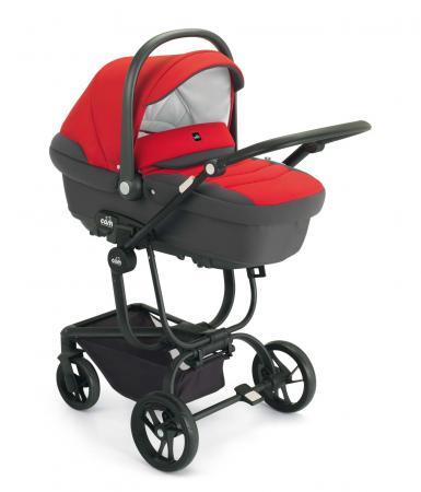 Коляска 3-в-1 Cam Comby Taski (691/красный-графит) cam коляска 3 в 1 dinamico elite up cam бежевый