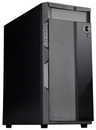 все цены на  Корпус ATX SilverStone Precision Без БП чёрный SST-PS14B  онлайн