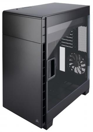 Корпус ATX Corsair Carbide Series Clear 600C Inverse Black Window Без БП чёрный CC-9011079-WW корпус corsair carbide series spec 04 black red cc 9011107 ww