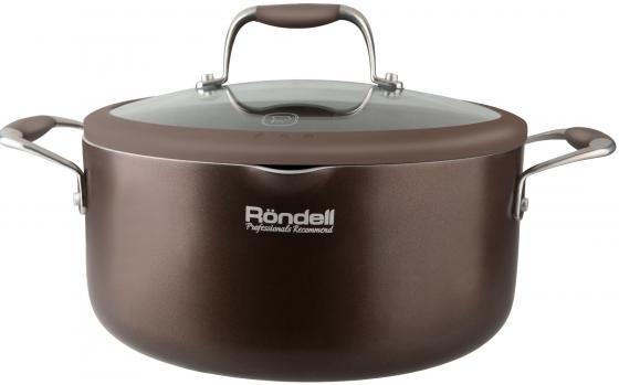 Кастрюля Rondell Mocaccino RDA-554 22 см 3.2 л алюминий кастрюля 4 3 л rondell walzer rda 766